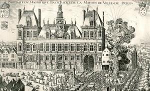 Hotel de ville en 1615