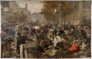 Lhermitte - Les halles 1895 Petit Palais