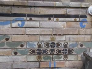décor Art Nouveau métro Abbesses (Guimard)