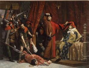 Mélingue : Etienne Marcel Charles V 1358 Orsay)