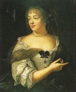 Marie de Rabutin-Chantal, marquise de Sévigné, par Claude Lefèbvre.