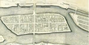 plan Delavigne (1754 ) île Saint-Louis