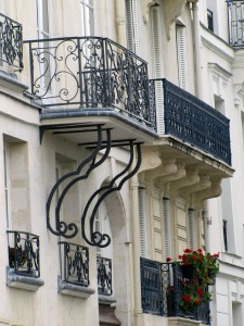 Balcon quai d Orléans