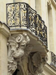 Balcon rue Saint Louis en l Ile