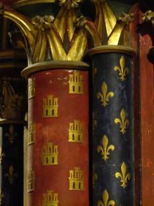 détail de la chapelle basse