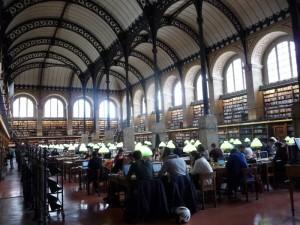 Bibliothèque Sainte Geneviève 1
