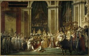 David Sacre Napoleon Ier 1804 Louvre