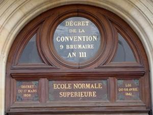 Ecole Normale Supérieure rue d'Ulm