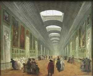 Hubert robert Louvre