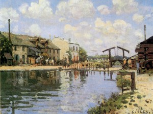 Sisley_canal_st_martin
