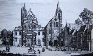 abbaye Ste Geneviève (à droite) et église St Etienne du Mont