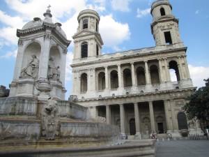 06 Fontaine des Quatre point cardinaux (évêques jamais nommés cardinaux) à St Sulpice