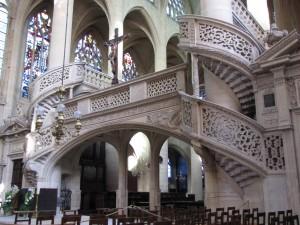 Saint Etienne du Mont jubé