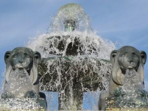 19 fontaine aux lions la Villette