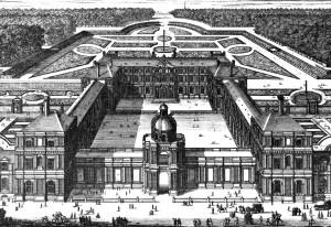 Palais d'Orléans appelé Luxembourg-Hustin 1643