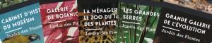 Leaflets Jardin des Plantes