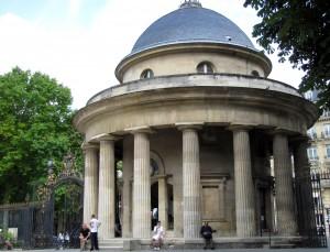 parc Monceau rotonde de Chartres