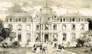 Chateau de la Muette sous Louis 15 SHAP