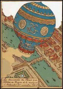 Montgolfiere 1783 la Muette