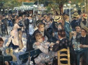 Renoir Bal du moulin de la Galette 1876 (Orsay)