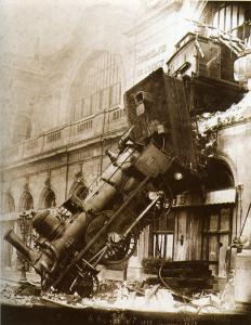 Accident du Granville-Paris à Montparnasse 1895