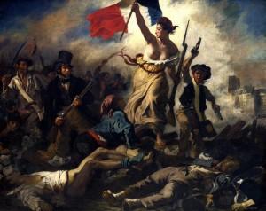 Delacroix la liberté guidant le peuple 1830 (Louvre)