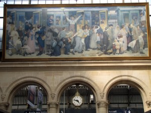 Gare de l'Est Albert Herter 1926