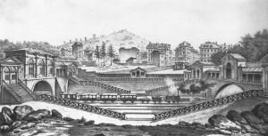 Victor Hubert débarcadère de l'Europe - 1837
