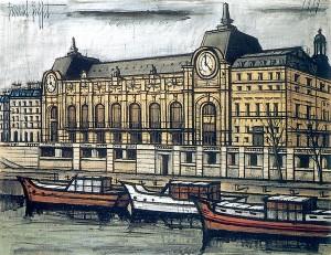 Buffet gare d'Orsay 1989