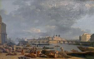 Noel port du Louvre 1790 (Carnavalet)