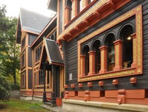 EU 1878 Pavillon Suède et Norvège Courbevoie
