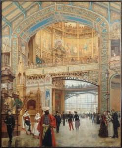 EU 1889 Béroud dome central de la galerie des machines (Carnavalet)