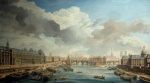 quai st Nicolas Raguenet 1750 Louvre