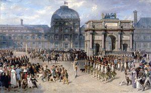 Hippolyte Bellangé Jour de revue (1810)