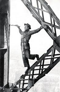 Marc Riboud peintre de la tour Eiffel