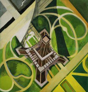 Robert Delaunay tour Eiffel