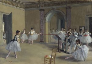 Degas - Le Foyer de la danse (Opéra de la rue Le Peletier) Orsay - 1872