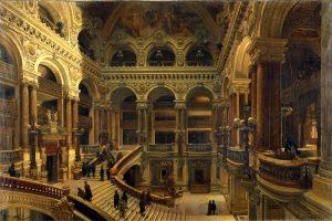 Navlet_escalier de l'opéra de Paris (Orsay - 1880)